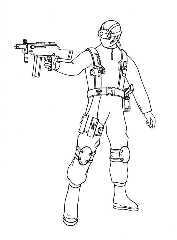 600x814 Call Of Duty Black Ops Coloring Pages