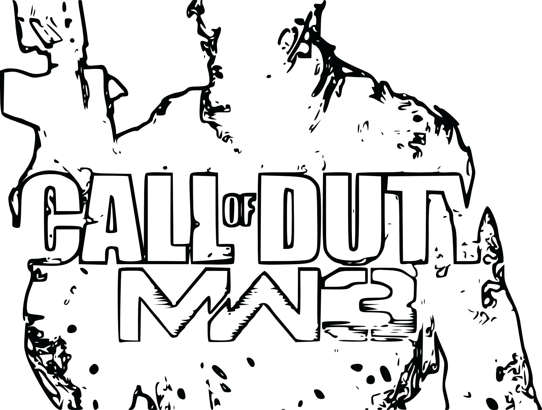 1745x1321 Coloring Black Ops Coloring Pages