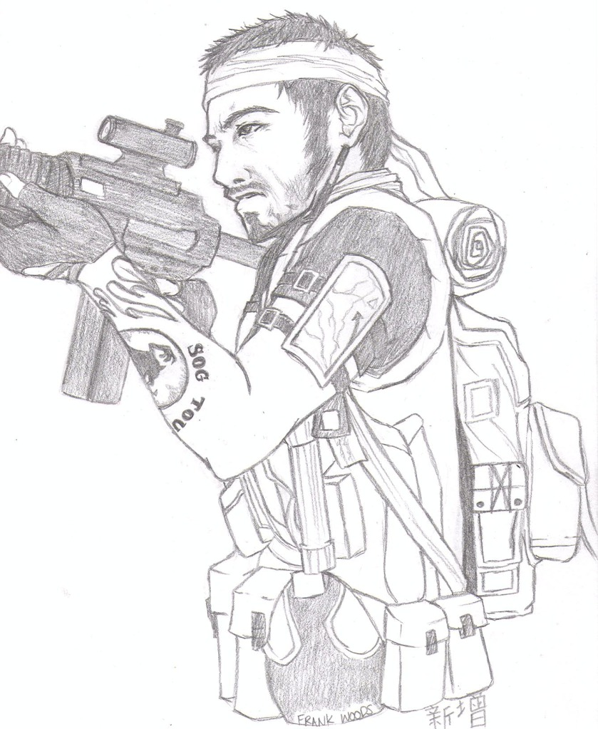 839x1023 Call Of Duty Black Ops Favourites By Megabitron
