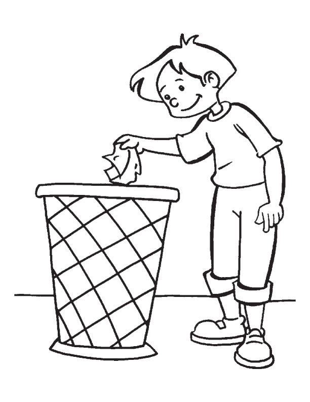 612x792 Clean Up Toys Coloring Pages The Duty Of Every Citizen Page