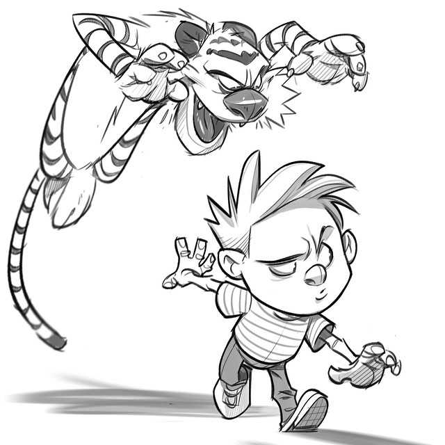 Calvin Drawing