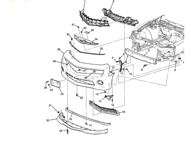 640x479 2010 Camaro Part Reference Guide And Schematic Drawings