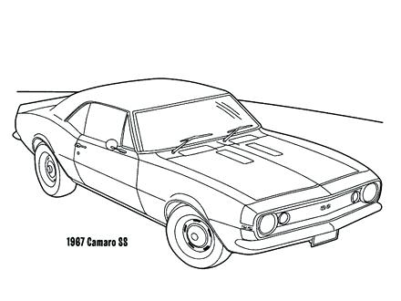 440x330 Camaro Coloring Pages Cars Coloring Pages Sketch Coloring Page