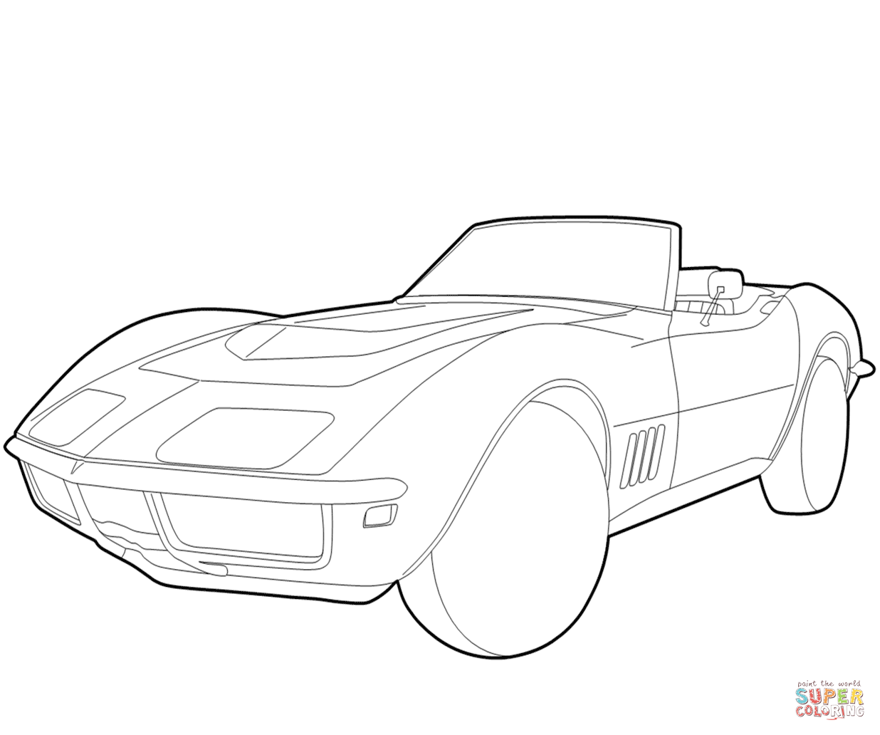 Camaro Outline Drawing At Getdrawings Com Free For Personal Use