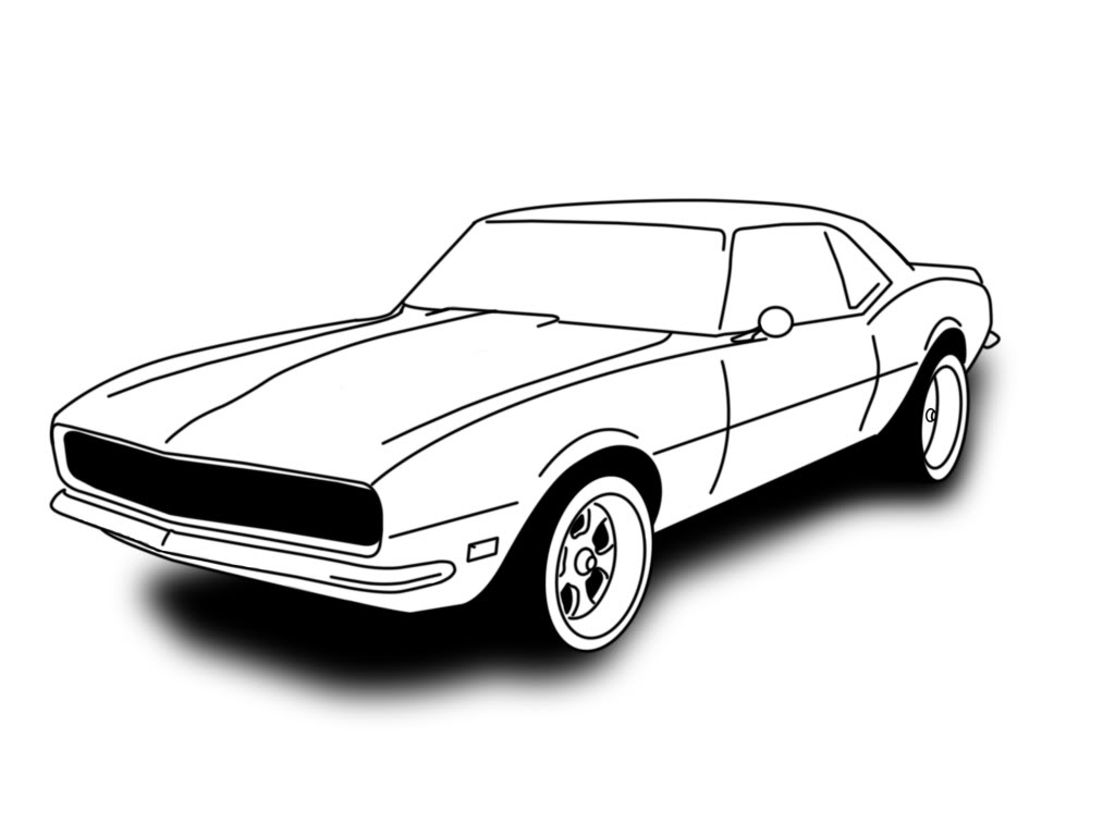 Camaro Ss Drawing At Free For Personal Use 1968 Chevy Project Car 1024x768 Drawn Vehicle