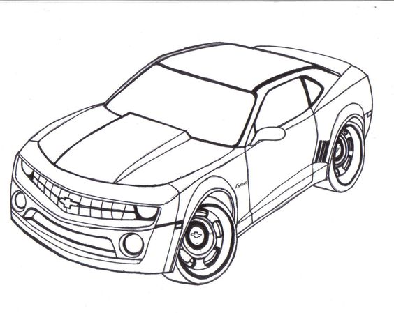 564x449 Car Printable Coloring Pages 05 Adult Coloring Pages