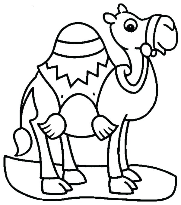 600x680 Best Of Camel Coloring Page Images Pyramid And Camel Coloring Page