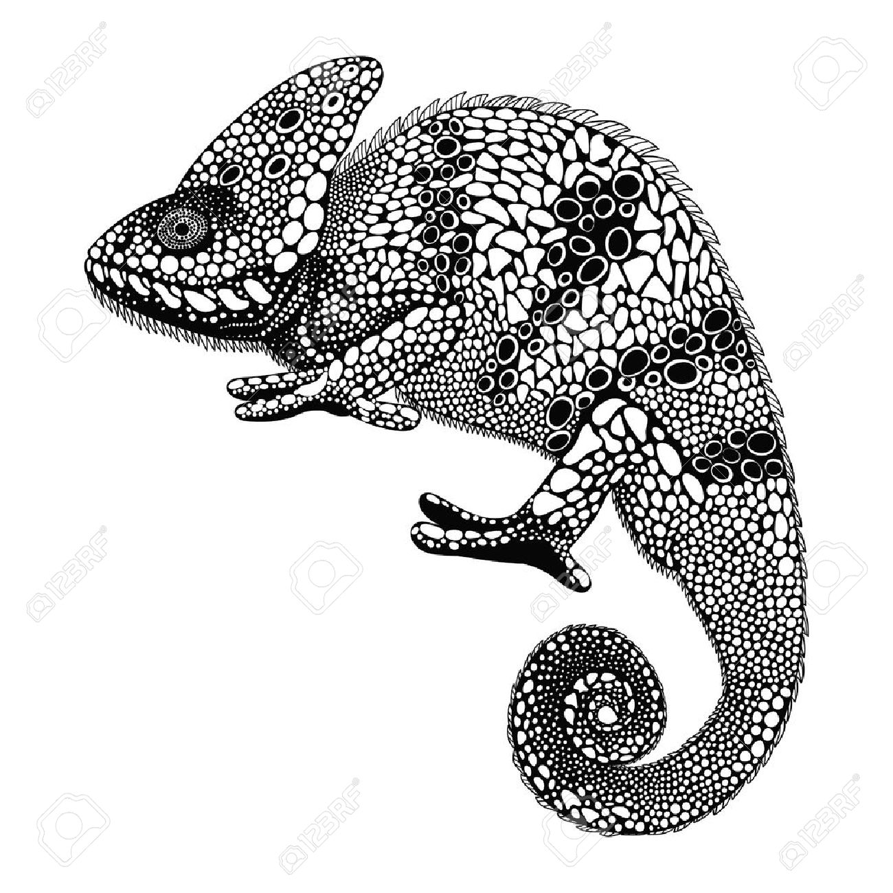1300x1300 4,317 Chameleon Cliparts, Stock Vector And Royalty Free Chameleon