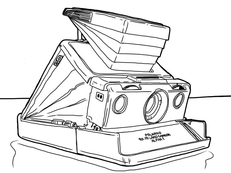 800x600 Polaroid Sx 70 Land Camera Alpha 1 By Simonh4