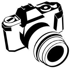 241x234 Cliparts Camera Drawing