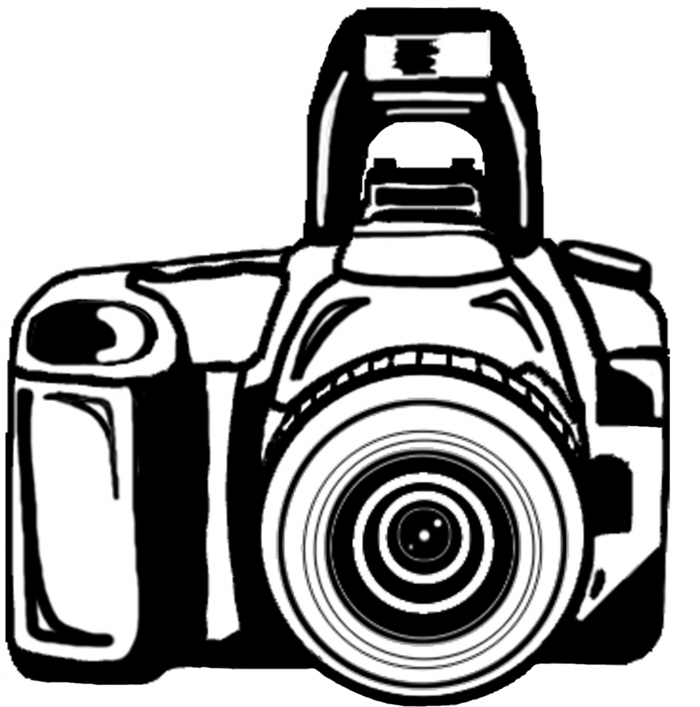 1013x1024 Drawing Of A Camera