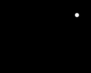300x240 Simple Line Camera Clip Art