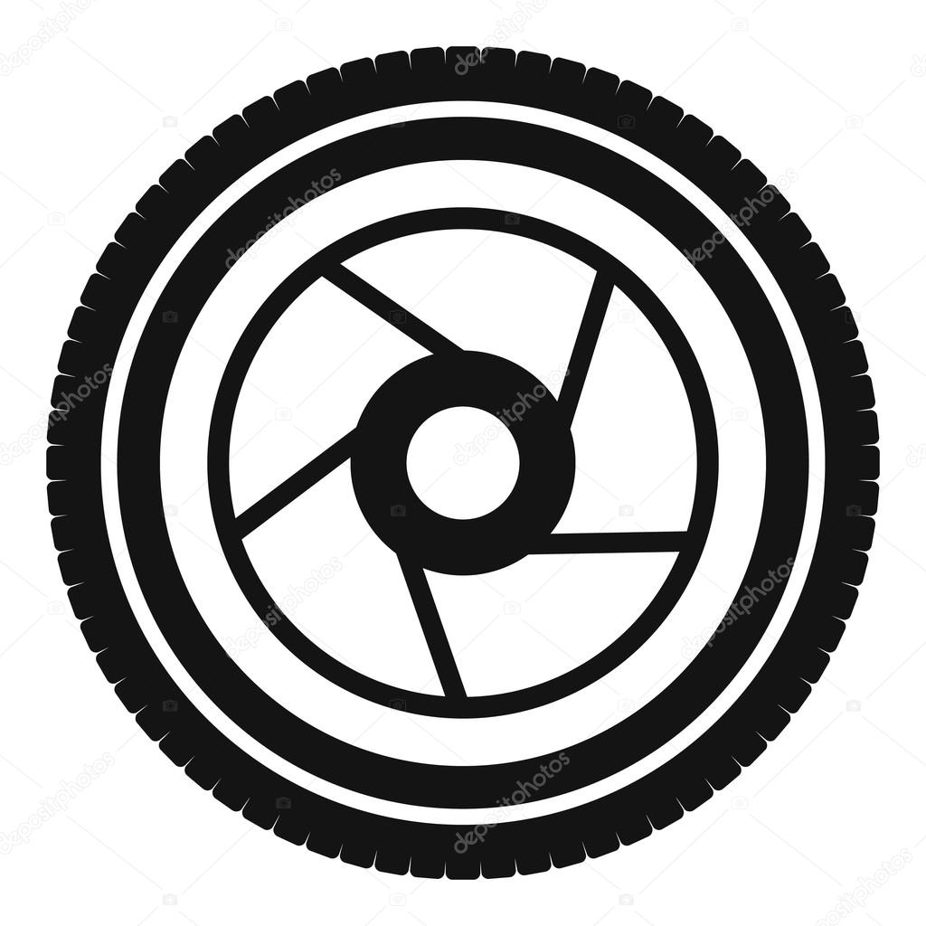 1024x1024 Camera Aperture Icon, Simple Style Stock Vector Ylivdesign