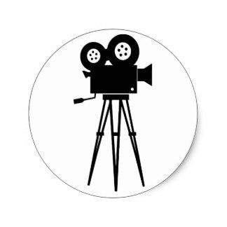 324x324 Film Camera Stickers Zazzle