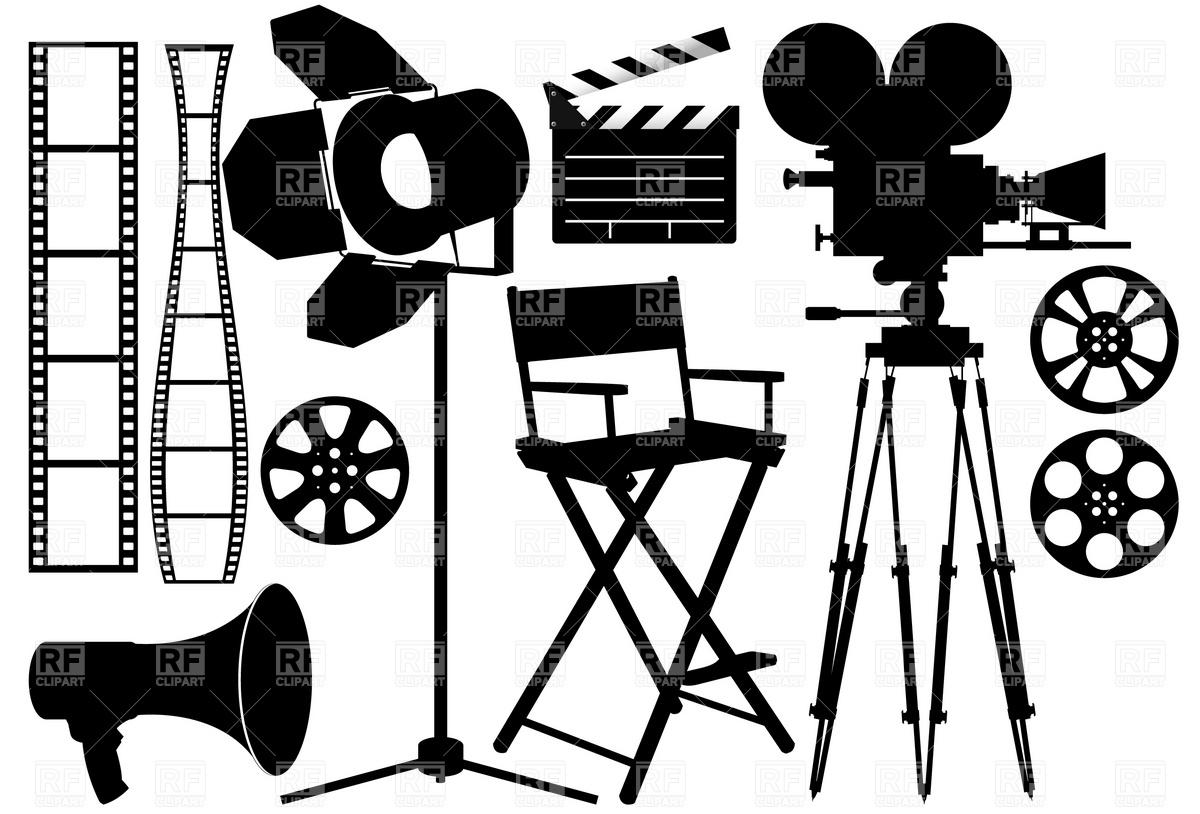 1200x814 Lights Clipart Film Set