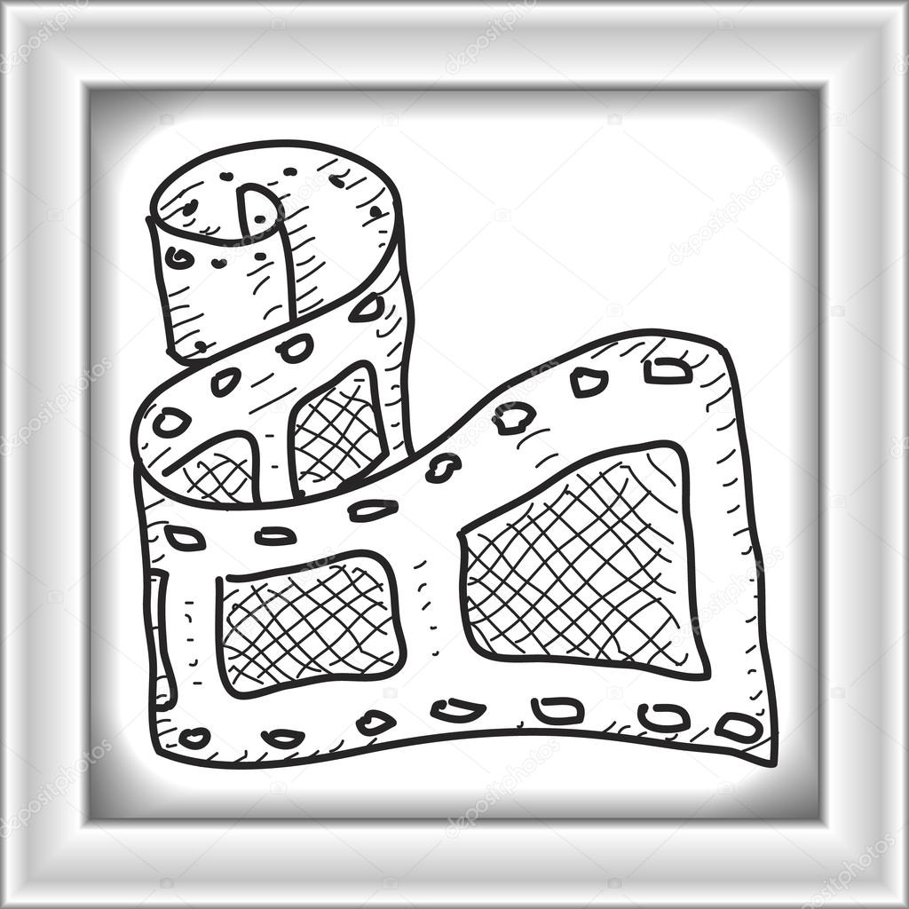 1024x1024 Simple Doodle Of A Camera Film Stock Vector Chrishall