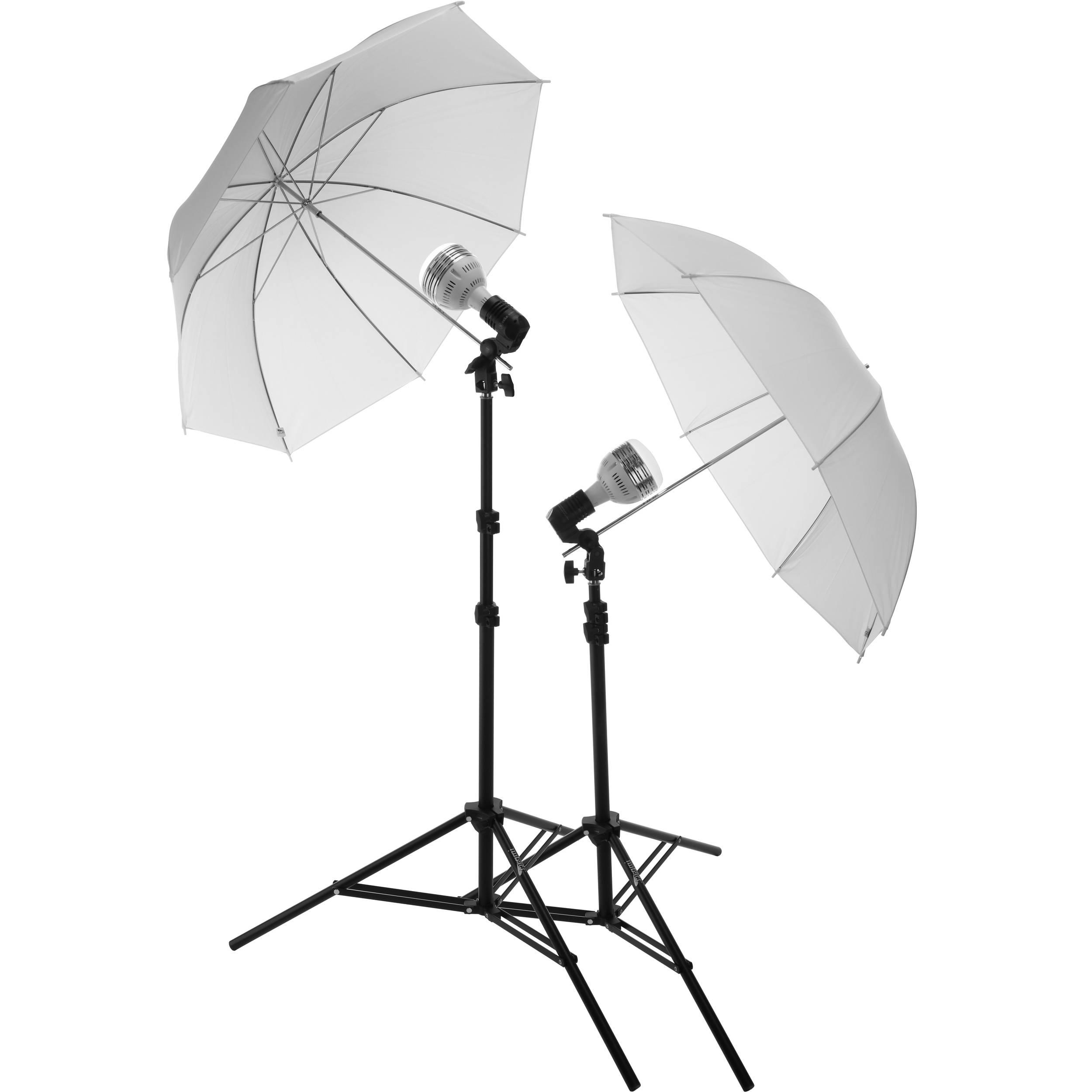 2500x2500 Impact Portrait Light Kit With 6' Light Stand, Ledfluorescent