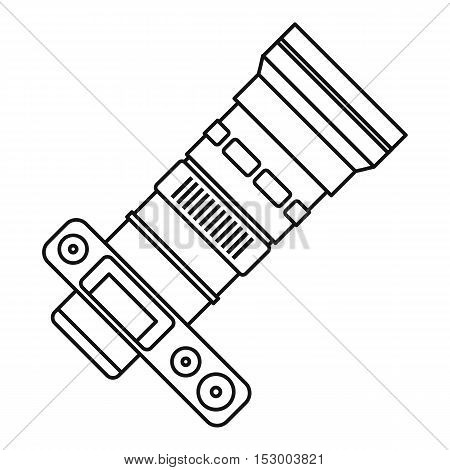 450x470 Camera Zoom Lens Icon. Outline Vector Amp Photo Bigstock