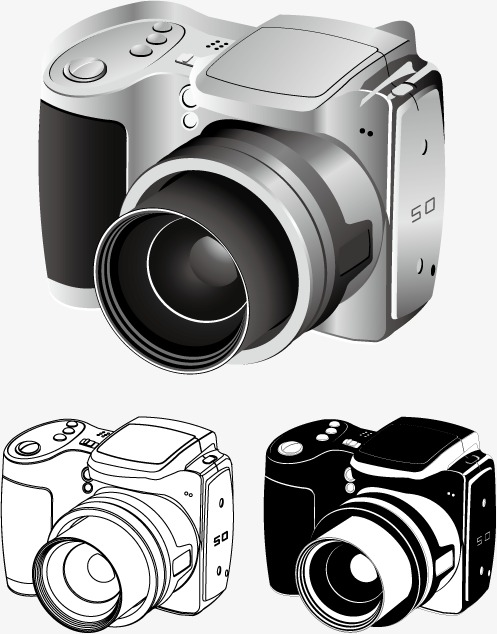 497x634 Vector Camera, Hd, Vector, Metal Png And Vector For Free Download
