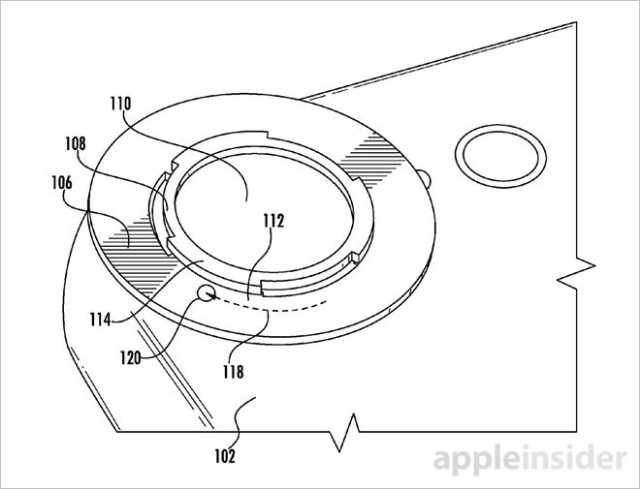 640x489 Apple Patent Describes Iphone With Bayonet Camera Lens Mount