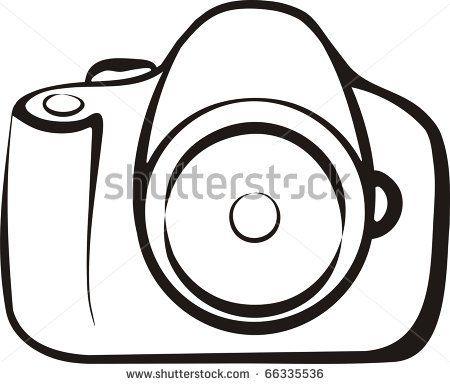 450x384 Drawn Camera Simple