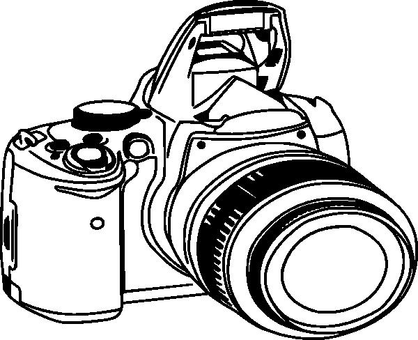 600x488 Camera Clip Art