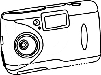 camera line drawing clip art at getdrawings com free for personal rh getdrawings com  digital video camera clipart