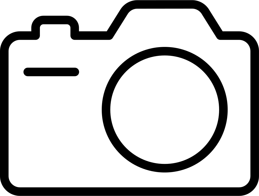 980x744 Photo Camera Outline Svg Png Icon Free Download ( 19590