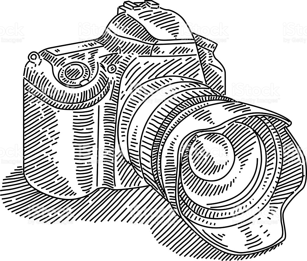 1024x873 Sketch Clipart Camera Drawing