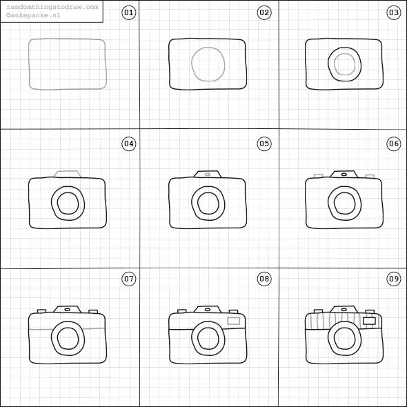 590x590 How To Draw A Camera. Doodles Cameras, Doodles