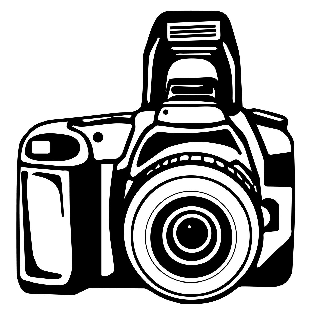 1280x1280 Free Camera Svg Cut File Craftables