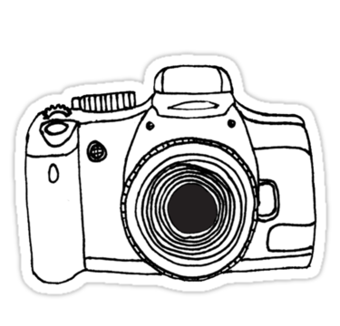 375x360 Camera Stickers By Thethinks Redbubble