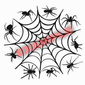 300x300 Duracoat Cerakote Spider Web Stencil Vinyl Paint Camouflage Camo