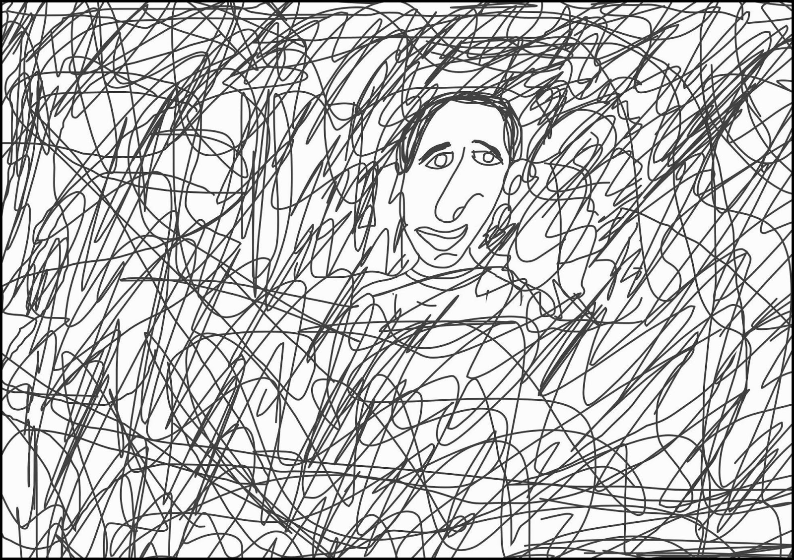 1600x1129 All This Is That Drawing Faces No. 832 Camouflage