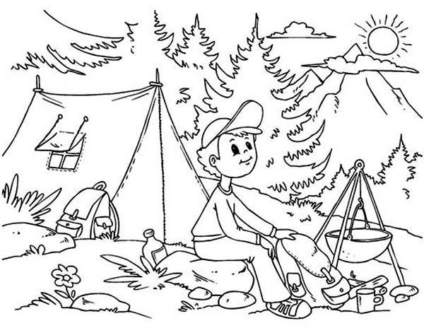Camp Drawing