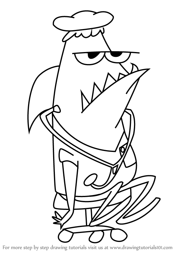 600x846 Learn How To Draw Nurse Leslie From Camp Lazlo (Camp Lazlo) Step