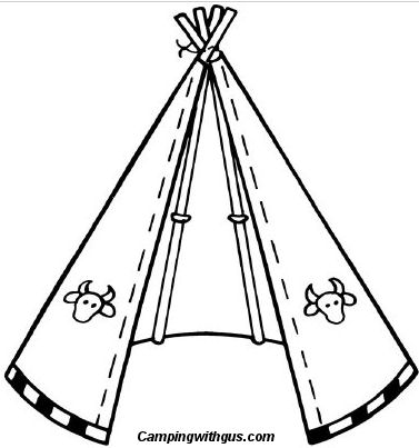377x403 Make A Camp Teepee