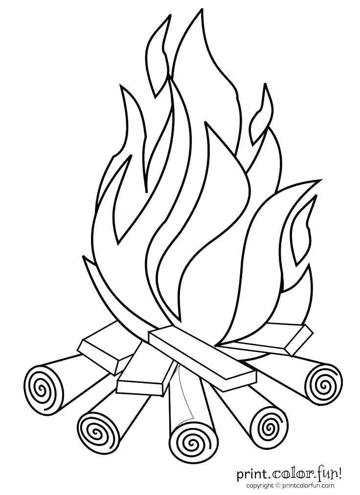 736x1012 Camp Coloring Pages Joandco.co