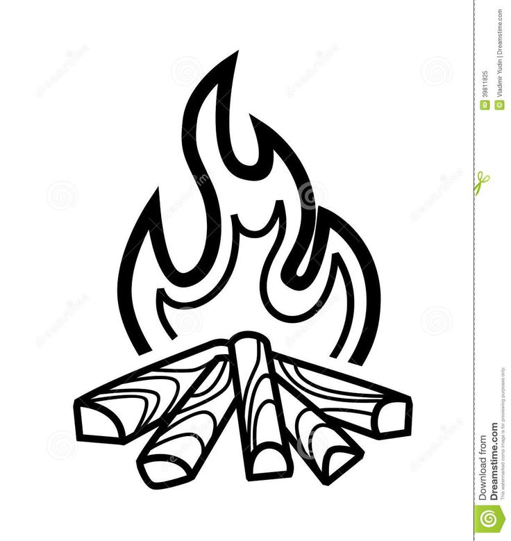 Campfire Drawing