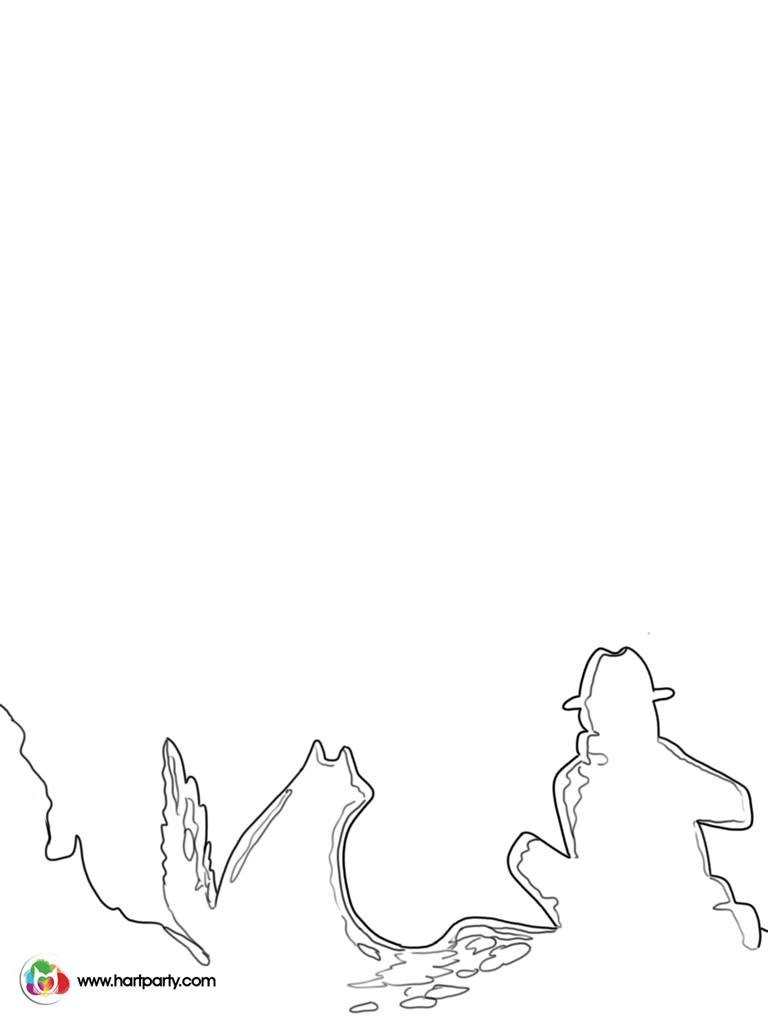 768x1024 How To Paint Campfire And Galaxy Silhouette Digiprint And Coloring