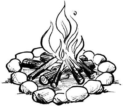 400x346 Campfire Building Techniques Different Types Of Campfires