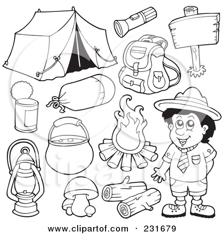 450x470 Digital Coloring Pages Royalty Free RF Clipart Illustration Of