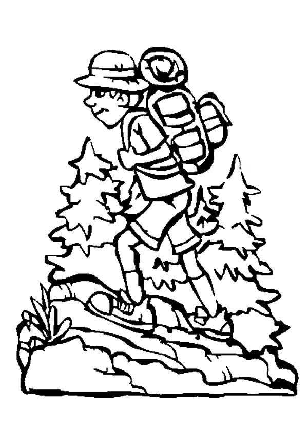 600x831 Camping Backpack Netart
