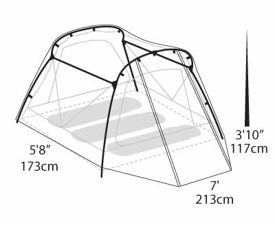 400x328 Eureka Tessel 2 Tent Outdoor Gear Amp Equipment For Camping