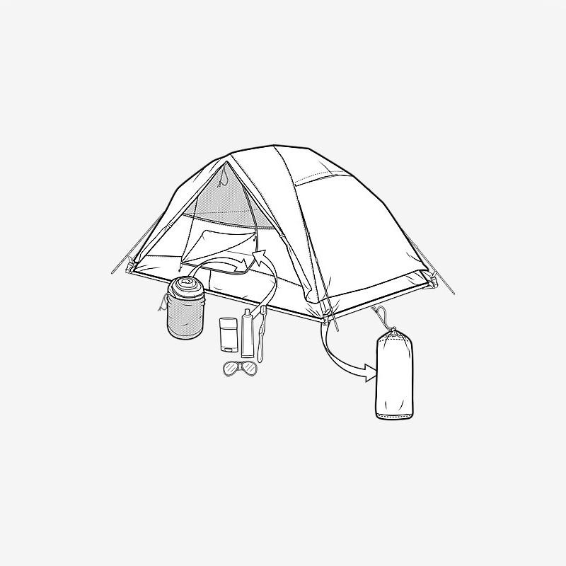 800x800 Burton Nightcap Tent 2 Person