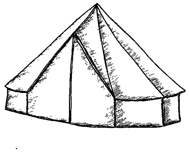 650x520 The Bell Tents Old Bidlake Farm