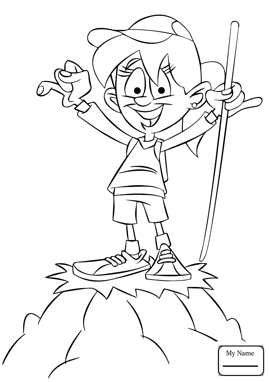 937x1326 Activities Camping Tent Coloring Pages Mycoloring7