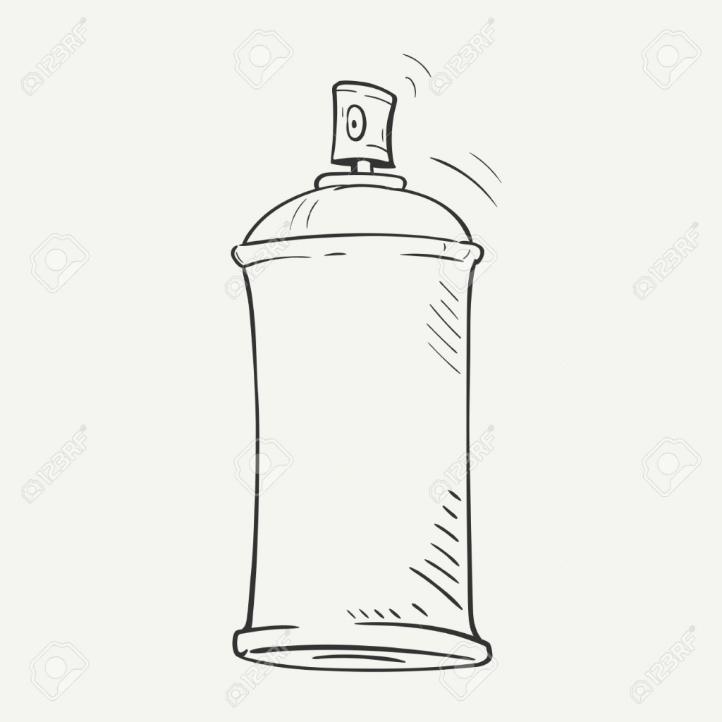 1024x1024 How To Draw A Spray Paint Can. How To Draw A Spray Paint Can Shoo