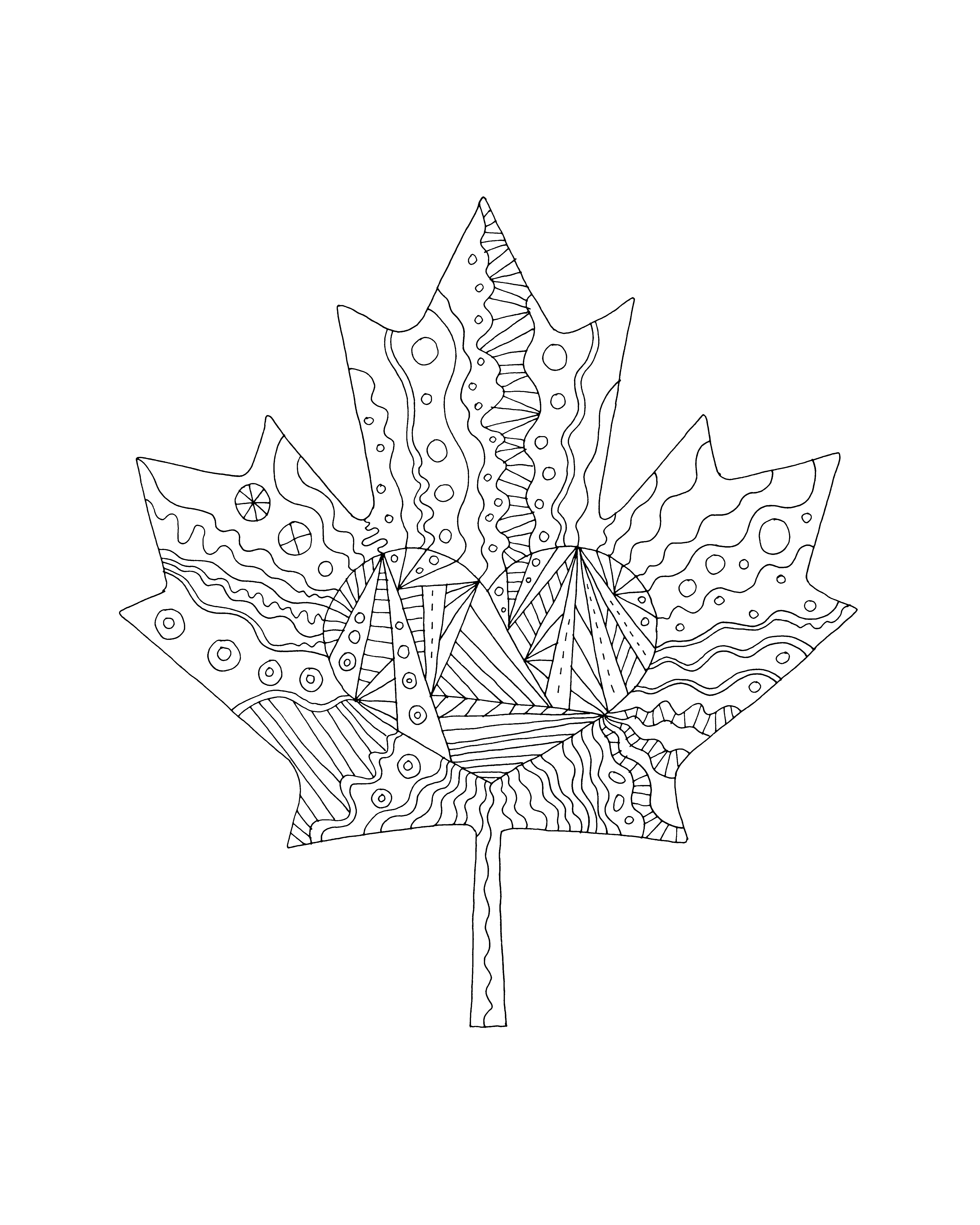 Canada Drawing