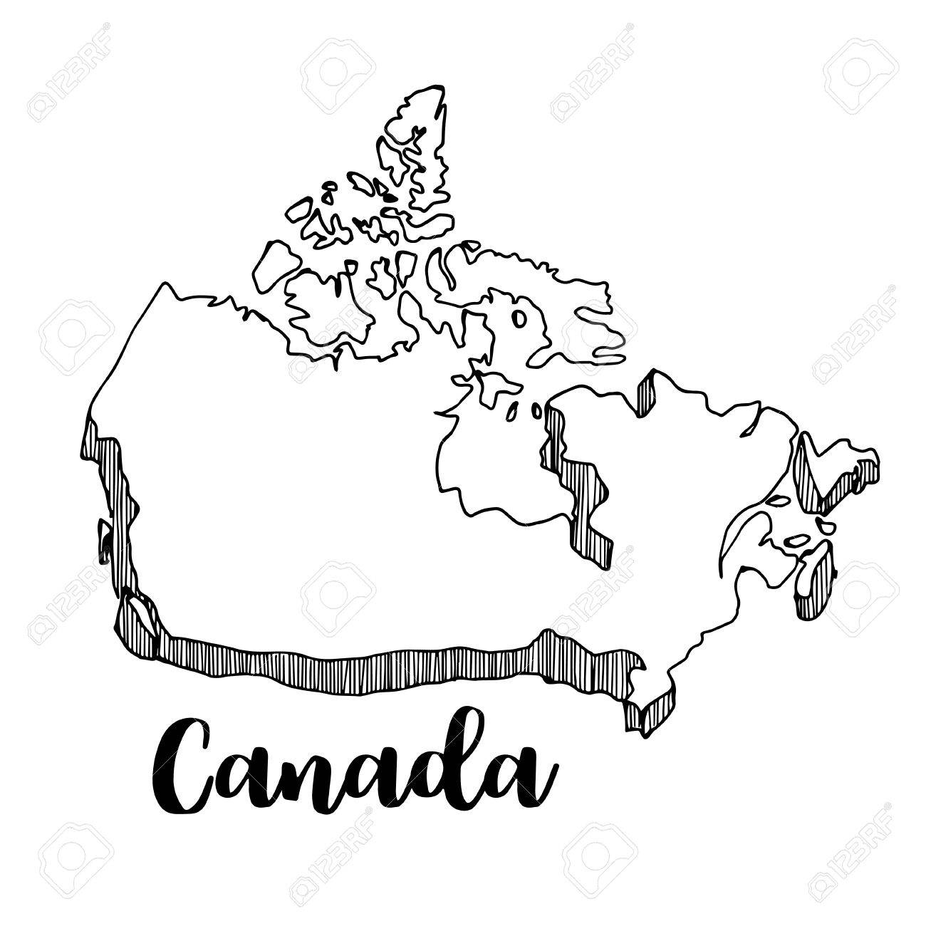 Canada Drawing at GetDrawingscom Free for personal use Canada